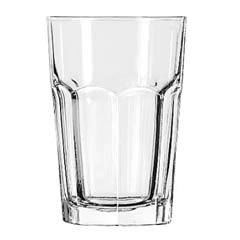 Gibraltar Drinking Glasses, Beverage, 14 oz., 5-1/8 Inch Height LIB15244