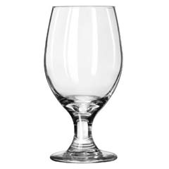 Perception Banquet Drinking Glasses, Goblet, 14 oz., 6-1/2 Inch Height LIB3010