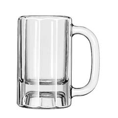 Mugs and Tankards Drinking Glasses, Paneled Mug, 10 oz., 5-3/8 Inch Height LIB5019