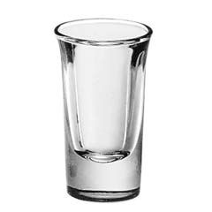 Whiskey Service Drinking Glasses, Tall Whiskey, 1 oz., 2-7/8 Inch Height LIB5031