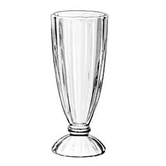 Soda Service Glass, 12 oz, Clear, Fluted Glass LIB5110
