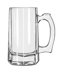 Mugs and Tankards Drinking Glasses, Stein, 12 oz., 5-7/8 Inch Height LIB5206