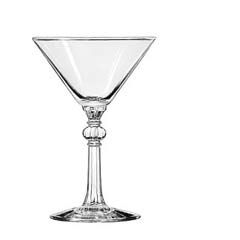 Specialty Martini Drinking Glasses, Cocktail, 6-1/2 oz., 6 Inch Height LIB8876