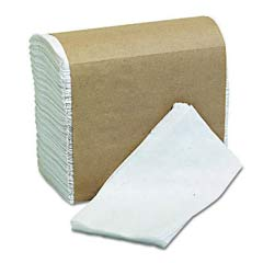 Tall-Fold Napkins, 2-Ply, 7 x 13 1/2, White MOR32250MS