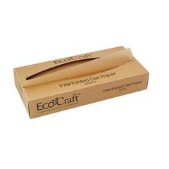 EcoCraft Interfolded Soy Wax Deli Sheets, 12 x 10 3/4, 500/Box BGC016012