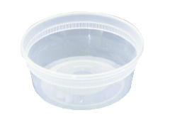 DELItainers, 1-Comp, Clear - (240) 12 oz. Containers PACYL2512
