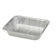 Steam Table Deep Aluminum Container, Half Size, 122 oz REYRC1151