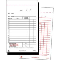 Sales Receipt Book, Carbon Duplicate, 3 1/2 x 6 7/10 RPPGC12A-2