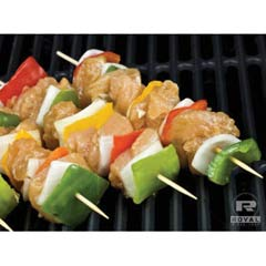 Bamboo Skewers, 10 Inches, 1,000/Case RPPR813