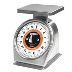Pelouze QuickStop Mechanical Portion-Control Scale, 32oz Cap, 7 x 5 Platform PEL632SRWQ
