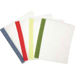 Hygen Sanitizer Safe Microfiber Cloth - White/Red - 16