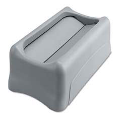 Swing Lid for Slim Jim Waste Container, Gray RCP2673-60GRA