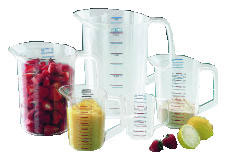 Rubbermaid [3217] Bouncer Measuring Cup, 2qt, Clear RCP3217CLE