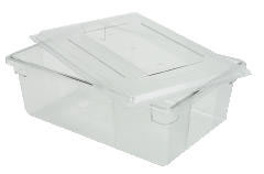 Rubbermaid [3300] Food/Tote Boxes, 12 1/2gal, 26w x 18d x 9h, Clear RCP3300CLE