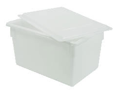 Rubbermaid [3302] Food/Tote Box Lids, 26w x 18d, Clear RCP3302CLE