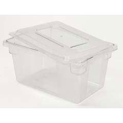 Rubbermaid [3305] ProSave Dual-Action Lids, 18w x 12d x 1 3/4h, Clear RCP3305CLE
