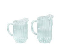 Rubbermaid [3336] Bouncer Plastic Pitcher, 32oz, Clear RCP3336CLE