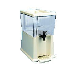 Rubbermaid [3358] Beverage Dispenser, Polycarbonate, 3 Gal, Clear RCP3358CLE