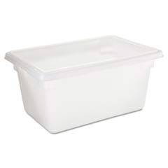 Food/Tote Boxes, 5gal, 18w x 12d x 9h, White RCP3504WHI
