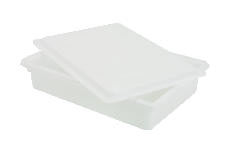 Rubbermaid [3508] Food/Tote Boxes, 8.5gal, 26w x 18d x 6h, White RCP3508WHI