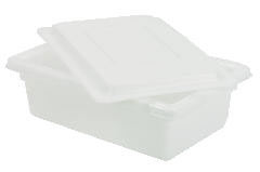 Rubbermaid [] Food/Tote Boxes, 3.5gal, 18w x 12d x 6h, White RCP3509WHI