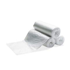Linear Low Density Can Liners, 56 gal, 2mil, 43w x 47h, Clear RCP5013-88CLE