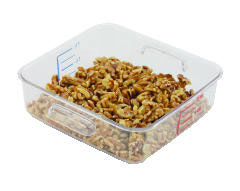 Rubbermaid [6302CLE] SpaceSaver Square Containers, 2qt, 8 4/5w x 8 3/4d x 2 7/10h, Clear RCP6302CLE