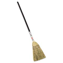 Lobby Corn-Fill Broom, 38-in Handle, Brown RCP6373BRO