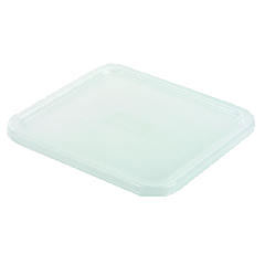 Rubbermaid [6509WHI] SpaceSaver Square Container Lids, 8 4/5w x 8 3/4d, White RCP6509WHI