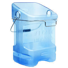 Rubbermaid [9F54T] Ice Tote, 5.5gal, Blue RCP9F54TBL