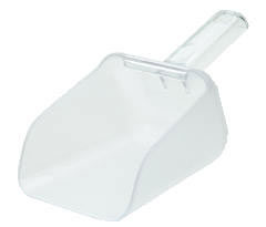 Rubbermaid [9F75CLE] Bouncer Bar/Utility Scoop, 32oz, Clear RCP9F75CLE