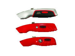 Rubbermaid [9H05] Retractable Utility Knife, 1 Razor Blade, Red RCP9H05