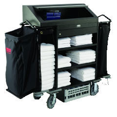 Housekeeping Cart, Hotel Cat 4 Shelves