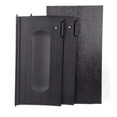 Locking Cabinet Door Kit, For Use With RCP Cleaning Carts RCP9T85BLA