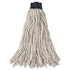 Replacement Mop Head For Mop/Handle Combo, Cotton, White RCPG043-00