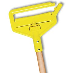 Invader Wood Side-Gate Wet-Mop Handle, 54
