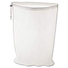 Laundry Nets, 24w x 24d x 36h, Synthetic Fabric, White RCPU210