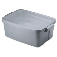 Roughneck Storage Box, 10gal, Steel Gray RHP2214TPSTE