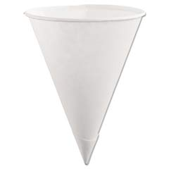 Paper Cone Cups, 6oz, White RHP2B41WHI
