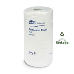 Universal Perforated Towel Roll, Two-Ply, 11 x 9, White, 210/Roll SCAHB1995A
