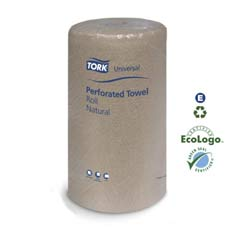 Universal Perforated Towel Roll, Two-Ply, 11 x 9, Natural, 210/Pack SCAHK1975A