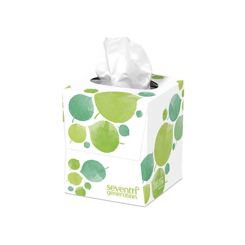 100% Recycled Facial Tissue, 2-Ply - (36) 85 Tissues SEV13719