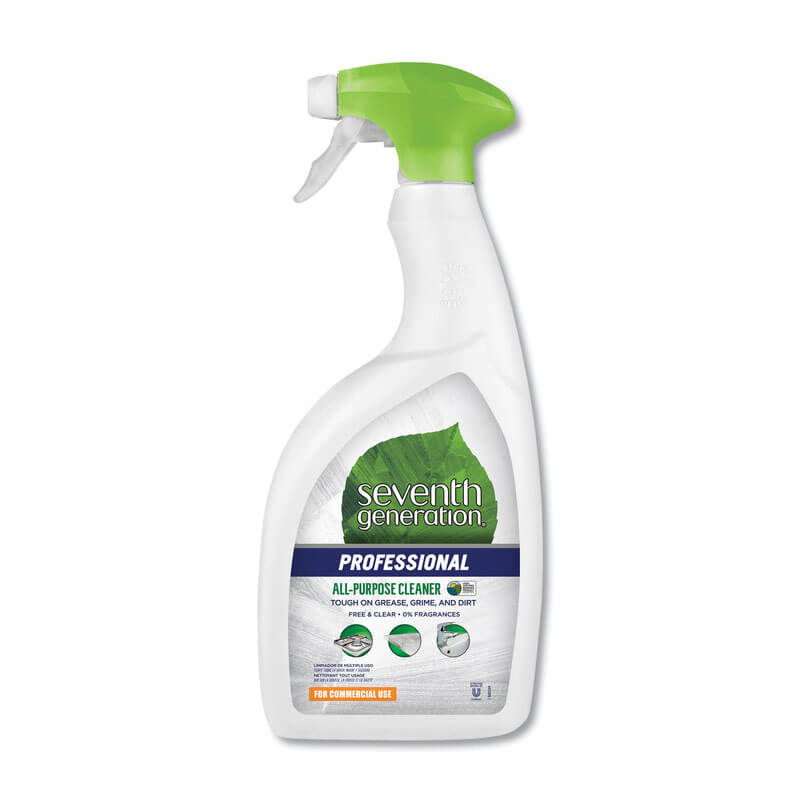 Free & Clear Natural All Purpose Cleaner - (8) 32 oz. Spray Bottles SEV22719