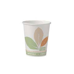 Bare Eco-Forward Paper Hot Cups, 10 oz., Bare Design, 50/Bag SCC370PLA-BB