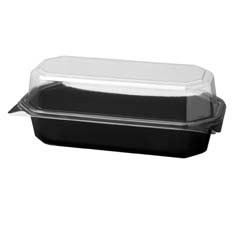 Specialty Containers, Black/Clear - (200) 20 oz. Containers SCC836011-PS94