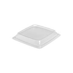 Expressions CF Container Lids, Clear, 7.49w x 7.49d x 1.18h SCC973017-AP90