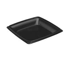 Expressions Hot Food Containers, Black - (150) 32 oz. Containers SCC974025-PP04