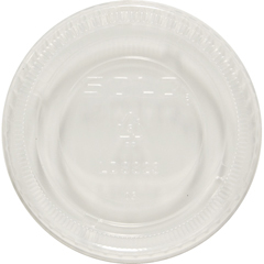 Snaptight Portion Cup Lids, 2.5-3.5 Cups, Clear SCCLDSS23