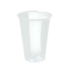 Reveal Plastic Cold Cups, 18 oz., Clear, Flush Fill, 50/Bag SCCPXT18