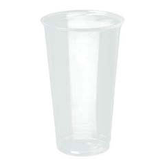 Reveal Plastic Cold Cups, 24 oz., Clear, Flush Fill, 50/Bag SCCPXT24